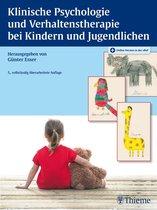 Omslag Klinische Psychologie und Verhaltenstherapie bei Kindern und Jugendlichen