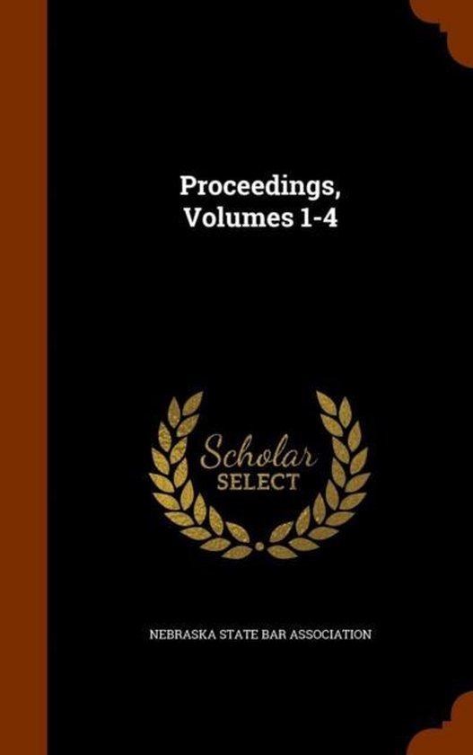 Proceedings, Volumes 1-4