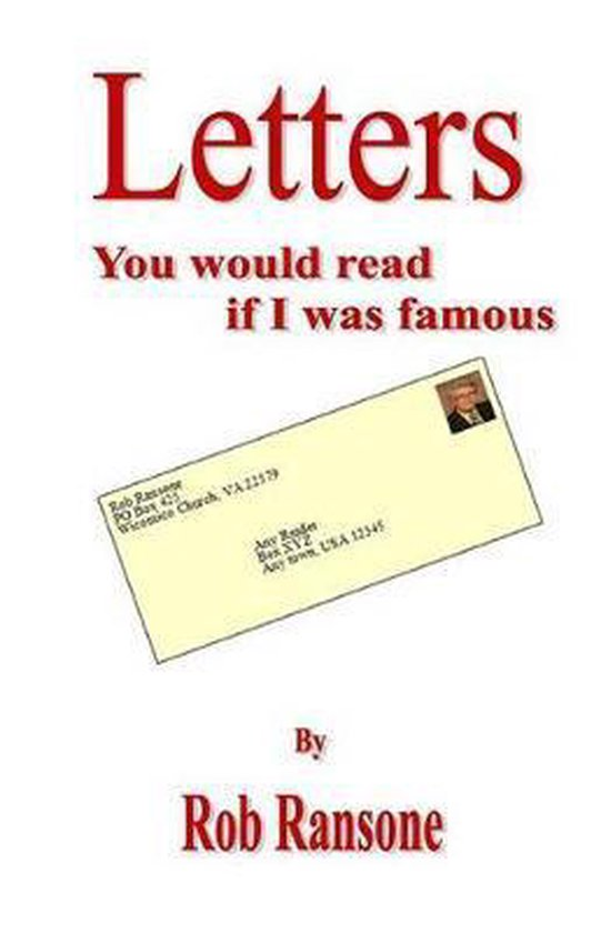 Letters You Would Read If I Was Famous