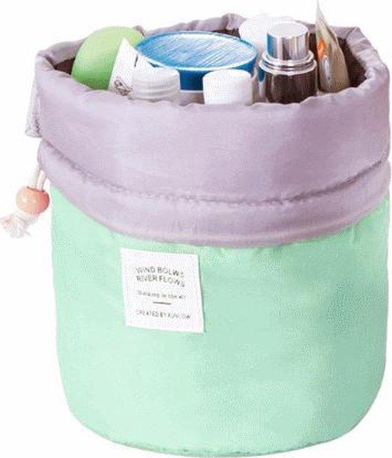 Fashion Favorite   Make Up Organizer / Reistas / Toilettas - Mintgroen - 23 x 17 cm - Fashion Favorite