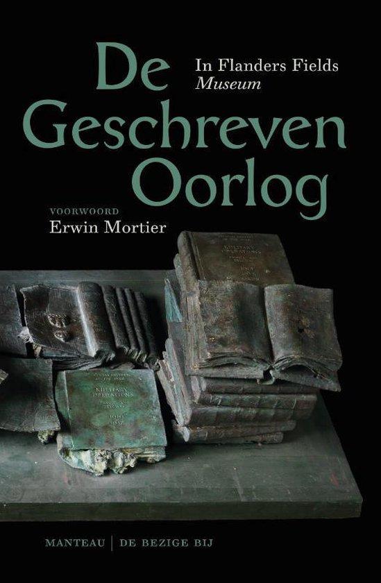 De geschreven oorlog - Erwin Mortier |