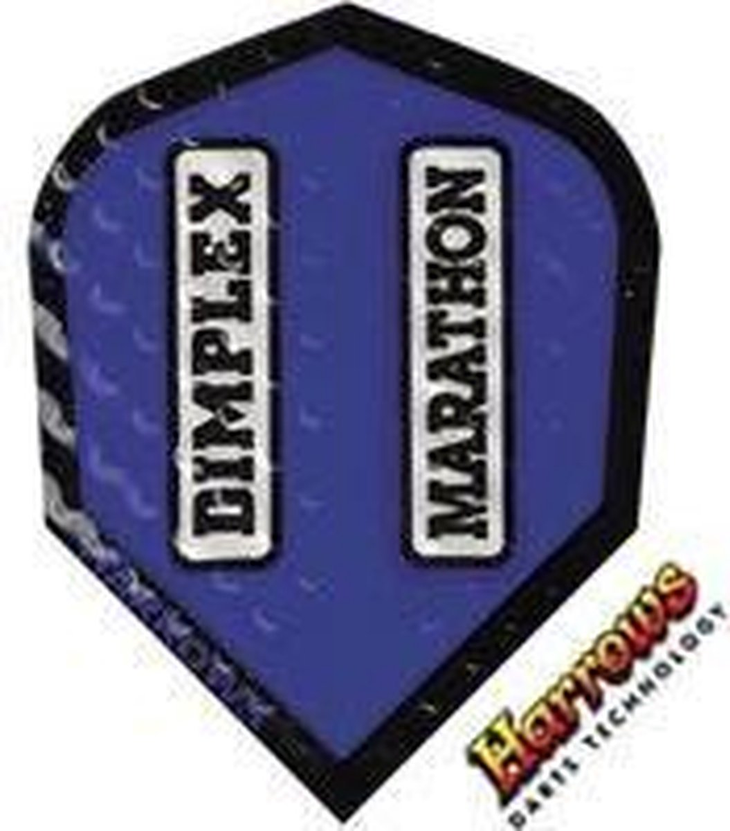 Harrows Dimplex Marathon Standard Blue Set à 3 stuks