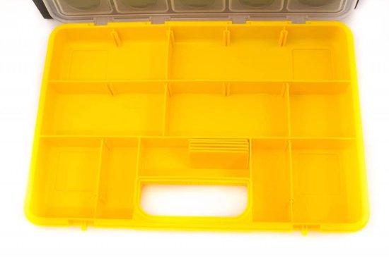 Erro draagbaar systeem met 6 assortimentsdozen 13 vaks, 31sys6900 - Erro Storage