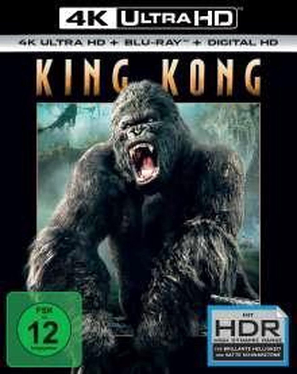 King Kong (2005) (Ultra HD Blu-ray & Blu-ray)-