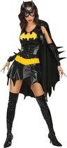 Kort sexy Batgirl kostuum voor volwassenen - Carnavalskleding - Maat M - Zwart