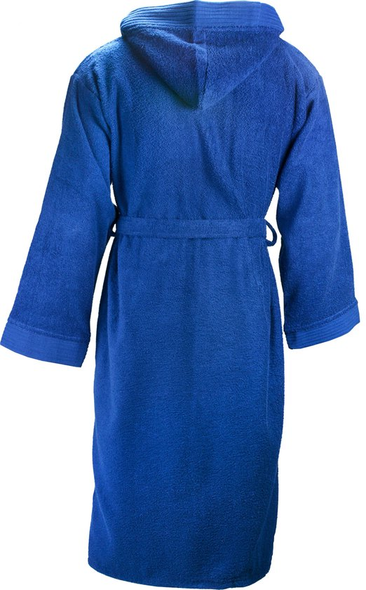 The One Badstoffen Badjas met capuchon Navy XXL/3XL - The One towelling