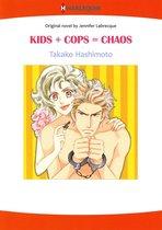 KIDS + COPS = CHAOS (Harlequin Comics)