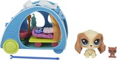 Littlest Petshop Mini Playset Cozy Camper