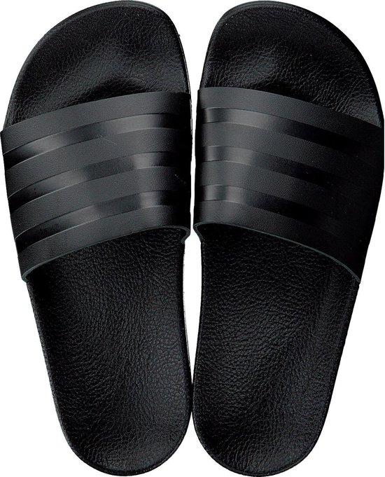 Adidas Dames Badslippers Adilette W - Zwart - Maat 37