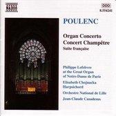 Poulenc: Organ Con.C.Champetre