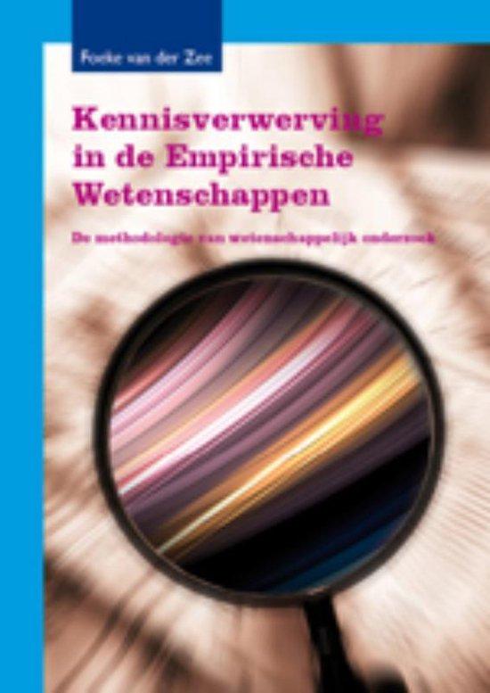 Kennisverwerving in de Empirische Wetenschappen - F. van der Zee |