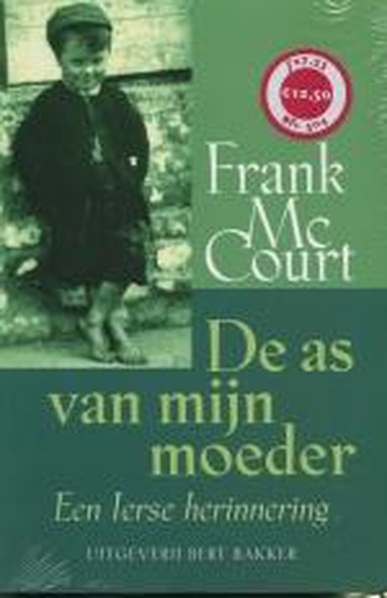 De As Van Mijn Moeder - Frank McCourt |