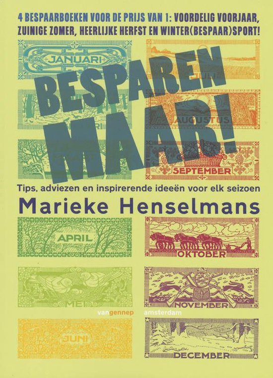 Besparen Maar! - Marieke Henselmans |