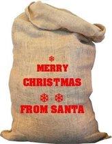 Kerstzak | Merry Christmas from Santa