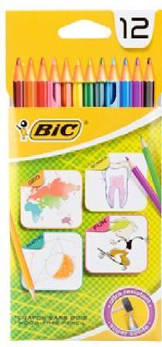 BIC Kleurpotloden - 12 stuks