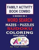Family Activity Book Combo