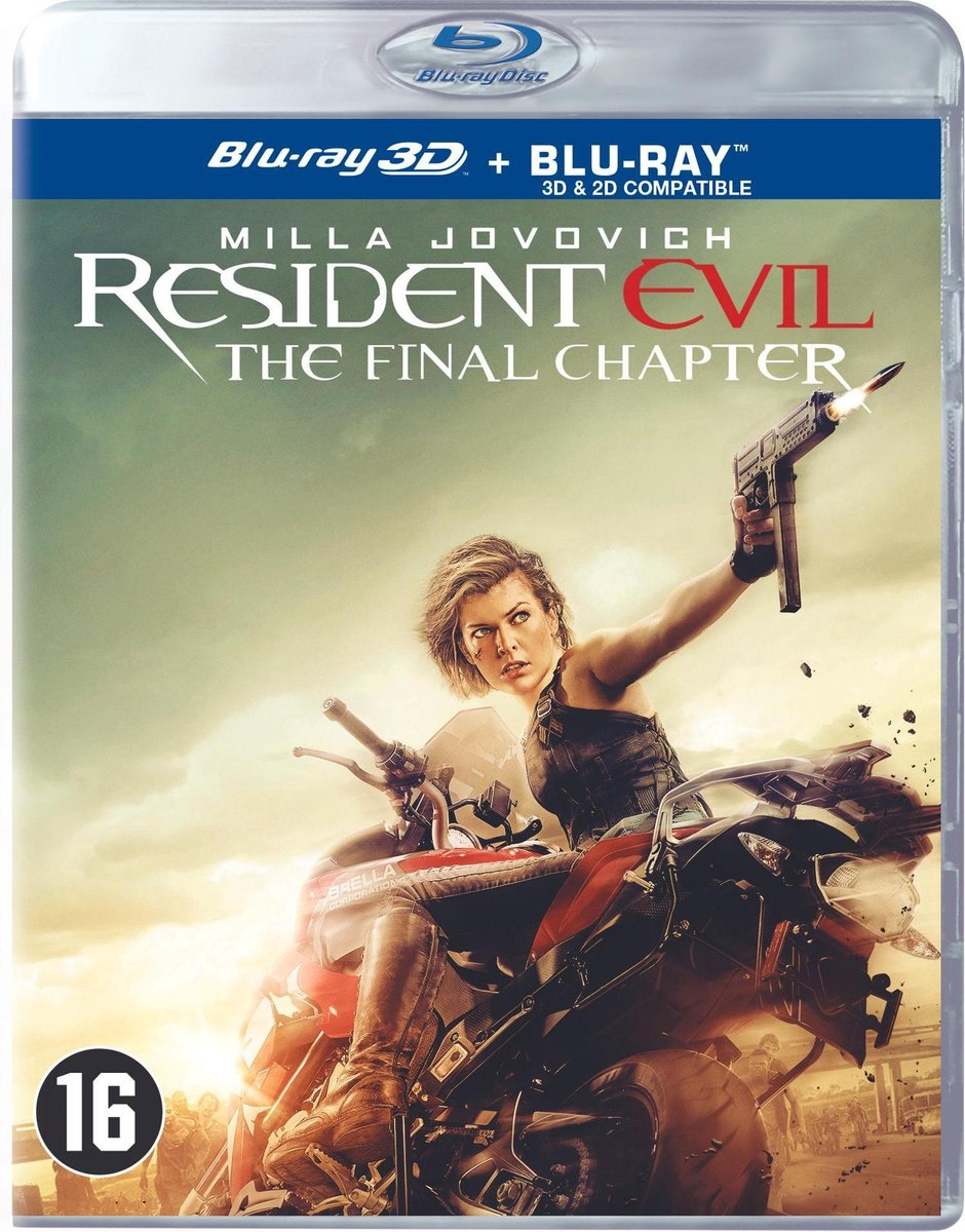 Resident Evil: The Final Chapter (3D Blu-ray) - Film