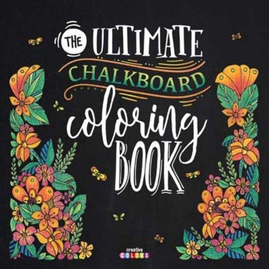 The ultimate chalkboard coloring book - nvt pdf epub
