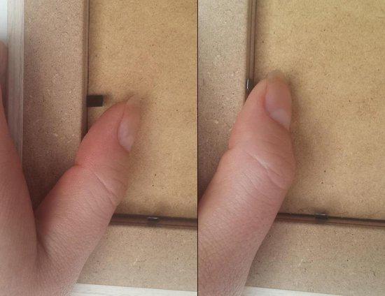 Homedecoration Misano – Fotolijst – Fotomaat – 23 x 43 cm  – Metaal Retro