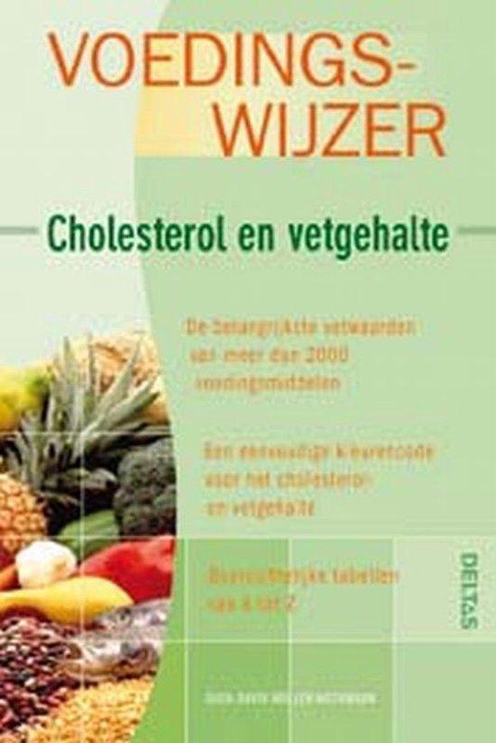 Cover van het boek 'Voedingswijzer - cholesterol en vetgehalte'