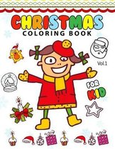Christmas Coloring Books for Kids Vol.1