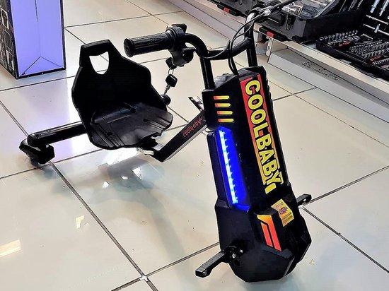 Bol Com Elektrische Drift Drift Trike Drift Scooter Drift Kart Led Lamp Bleutooth Sleutel