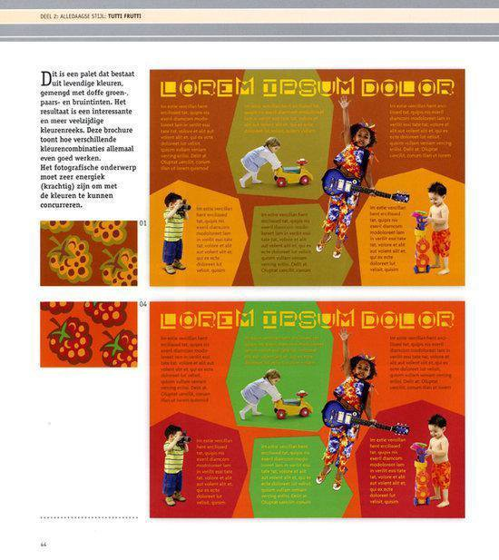 Cover van het boek '1000 kleurencombinaties voor drukwerk en web'
