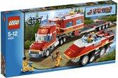 LEGO City Brandweer Commando Truck - 4430