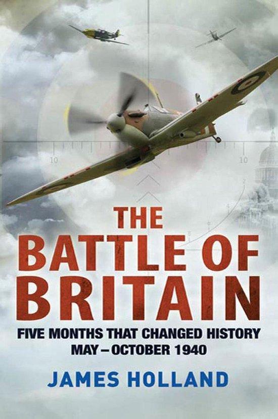 Boek cover The Battle of Britain van James Holland (Onbekend)
