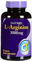 L-Arginine 3000 mg (90 tabletten) - Natrol