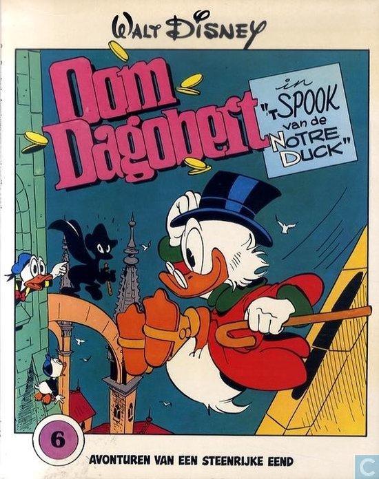 Oom dagobert in t spook van de Notre Duck - nr 6 - 1e druk 1979 - Disney  