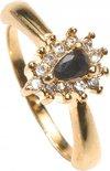 Gaubert Sylvian Ring Goudkleurig One-size - Saffier