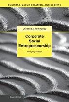 Corporate Social Entrepreneurship
