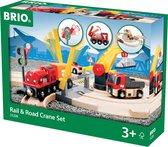 BRIO Treinset weg en takelkraan - 33208