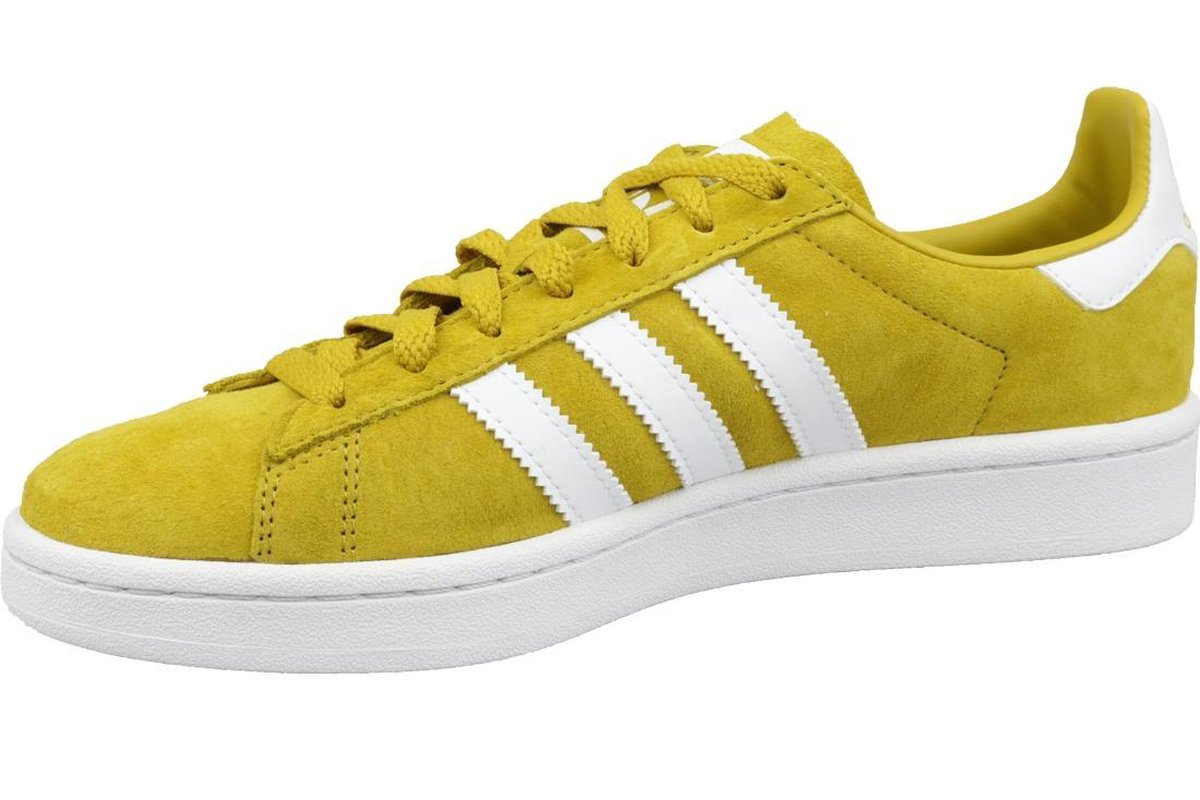 Adidas Campus CM8444, Mannen, Geel, Sneakers maat: 40 EU Sneakers