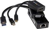 StarTech.com 3-in-1 Adapter set voor Surface Pro 4 / Pro 3 en Surface mDP naar HDMI / VGA USB 3.0 naar GbE