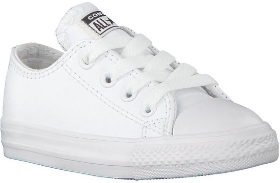 bol.com | Converse Meisjes Sneakers Chuck Taylor Ox - Wit ...