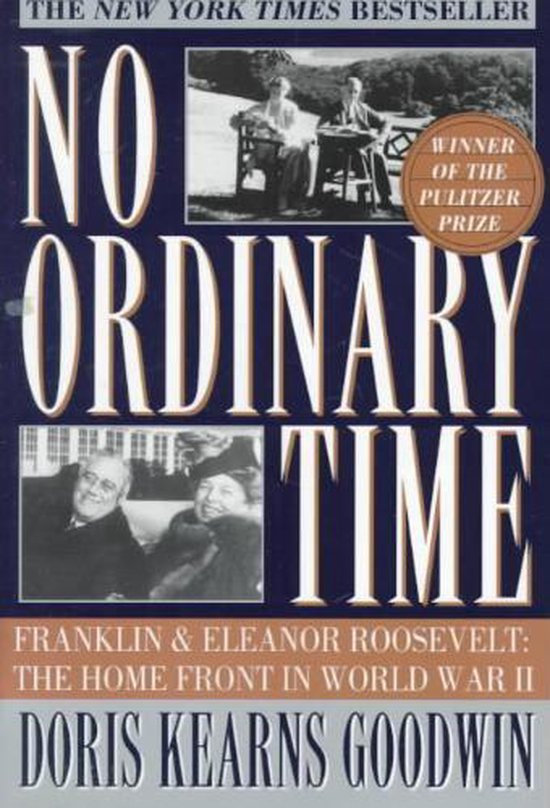 Boek cover No Ordinary Time van Doris Kearns Goodwin (Paperback)