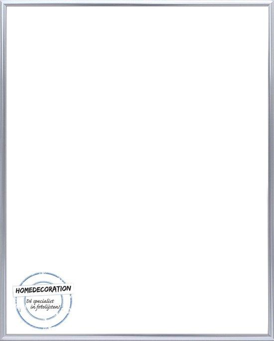 Homedecoration Kampen– Fotolijst – Fotomaat – 45x56 cm– Aluminium – Zilver hoogglans