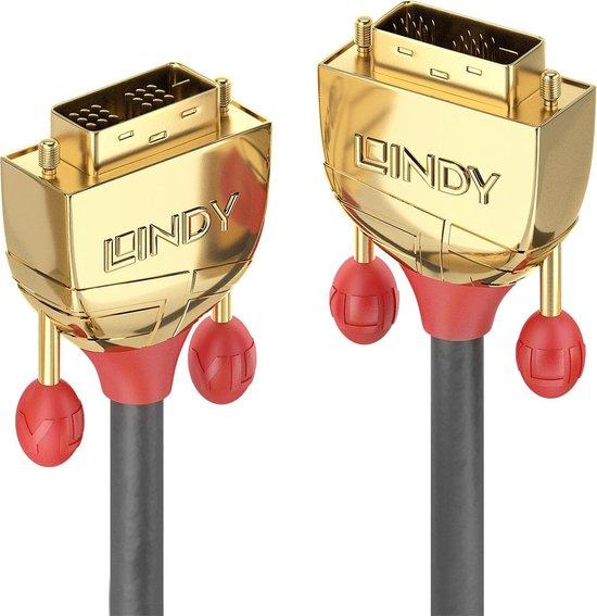 Lindy DVI-D Single Link SLD Kabel Gold Line 15m