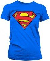 Superman T-shirt Dames T-shirt Maat XL