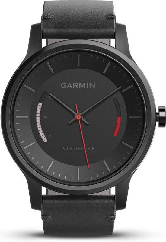 Garmin Vivomove Classic - Activity tracker - Zwart