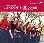 Europaische Volkslieder Fur Gleiche Stimmen