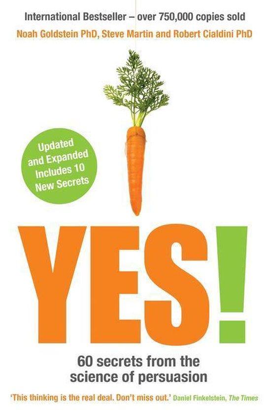 Boek cover Yes! van Noah Goldstein (Onbekend)