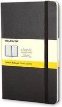 Moleskine Classic Notitieboek Hard cover - Large - Zwart - Ruiten