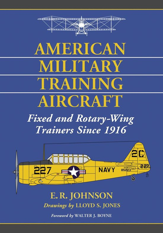 Boek cover American Military Training Aircraft van E.R. Johnson (Onbekend)