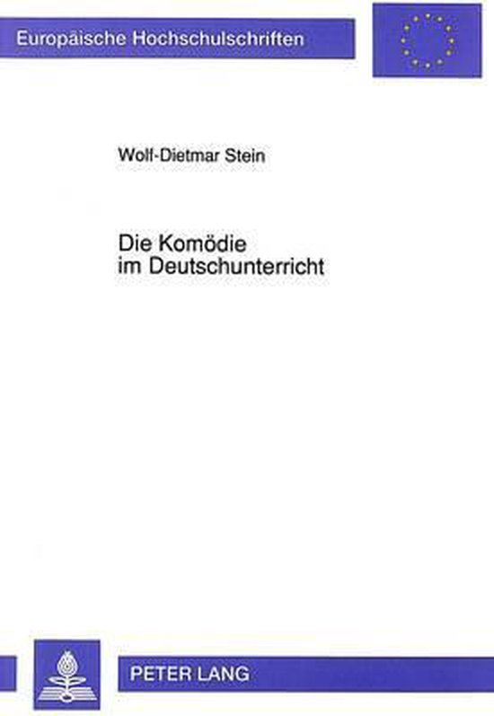 Die Komoedie Im Deutschunterricht