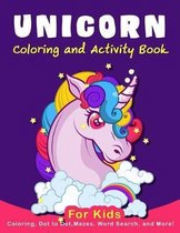 Unicorn Coloring Activity Book for Kids