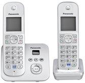 Panasonic KX-TG6822 DECT-telefoon Zilver Nummerherkenning