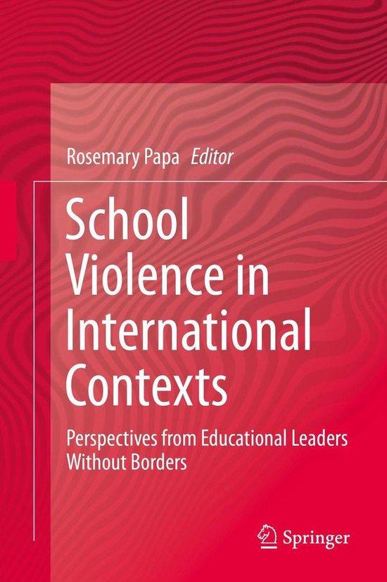 School Violence in International Contexts